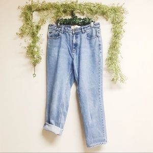 Vintage Route 66 mom jeans